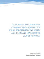 Lesotho_SBCC Strategy for SRHR and HIV i