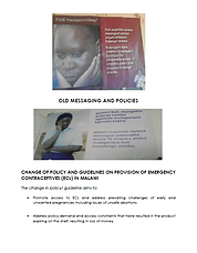 Malawi_Provision of Emergency Contracept