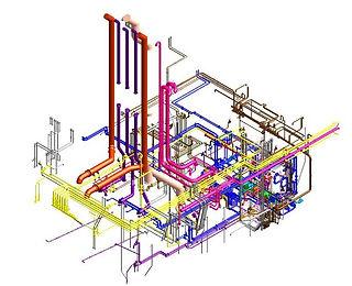 CHEMICAL TANKER 3D MODELLING
