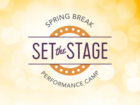 Set the Stage! Is Back For 2021!