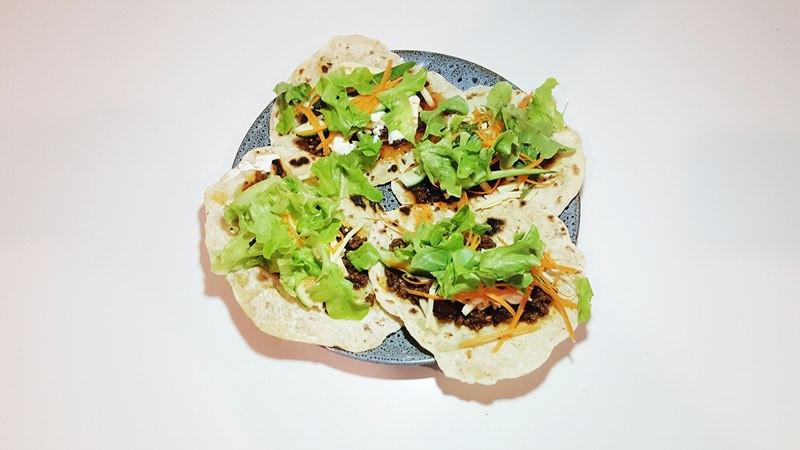 zero waste simple tortilla recipe taco