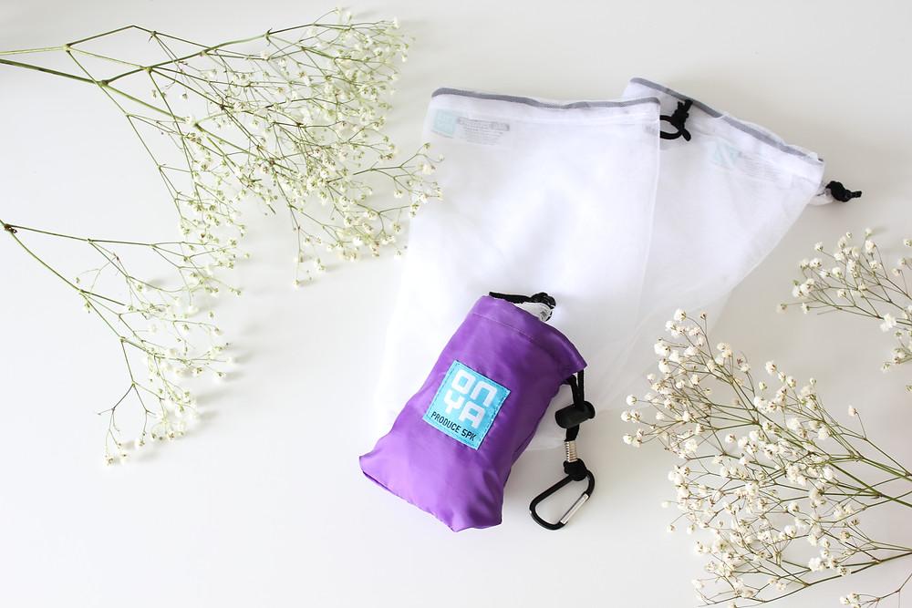 onya reusable produce bags zero waste biome brisbane