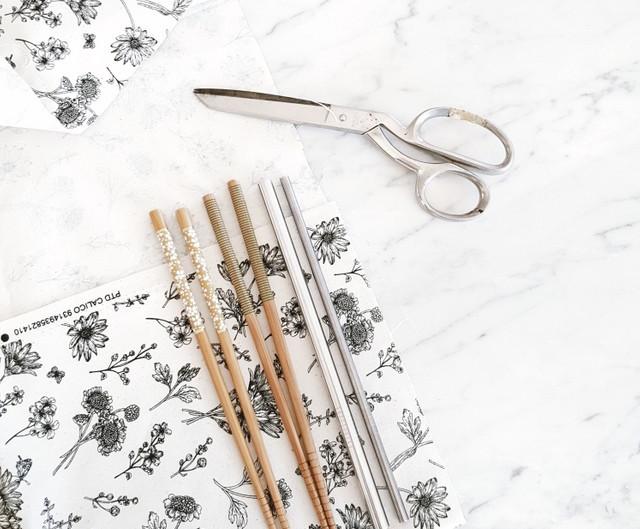 Zero Waste DIY: How to sew a Zero Waste cutlery wrap
