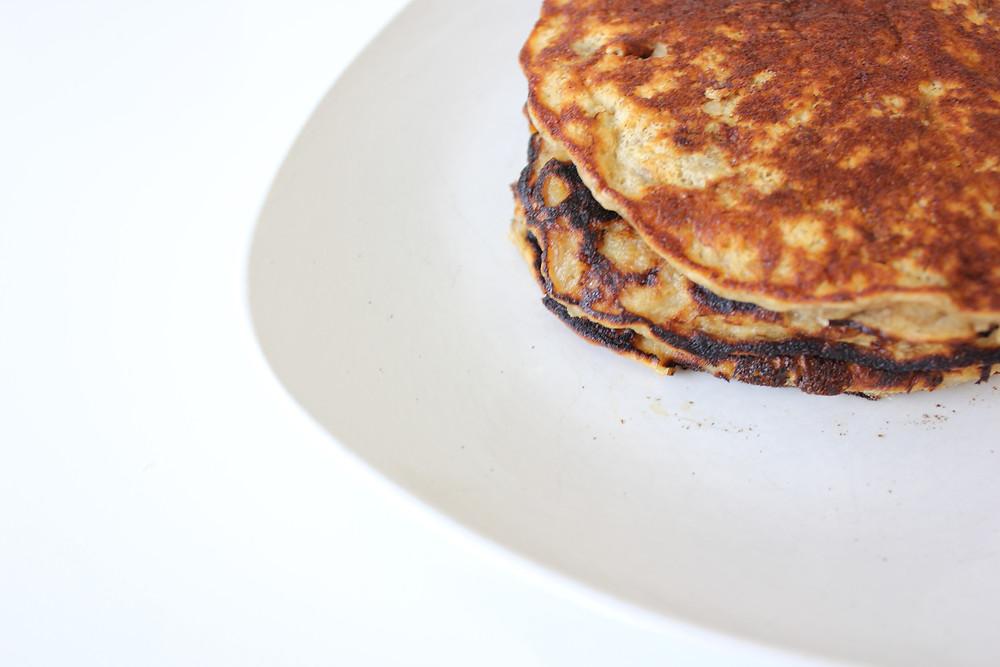 healthy zero waste pancakes 2 ingredients