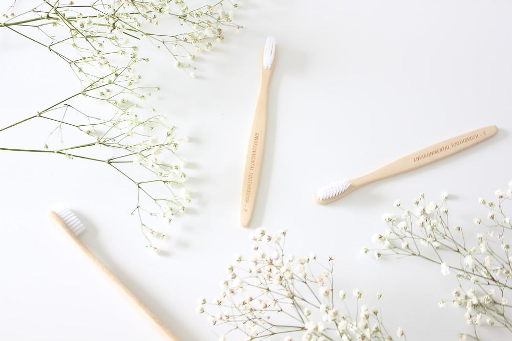 Zero waste Bamboo toothbrushes biome brisbane
