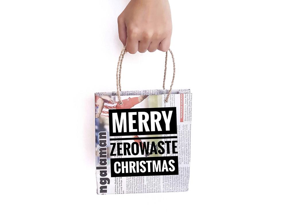 merry zero waste christmas xmas DIY craftmas