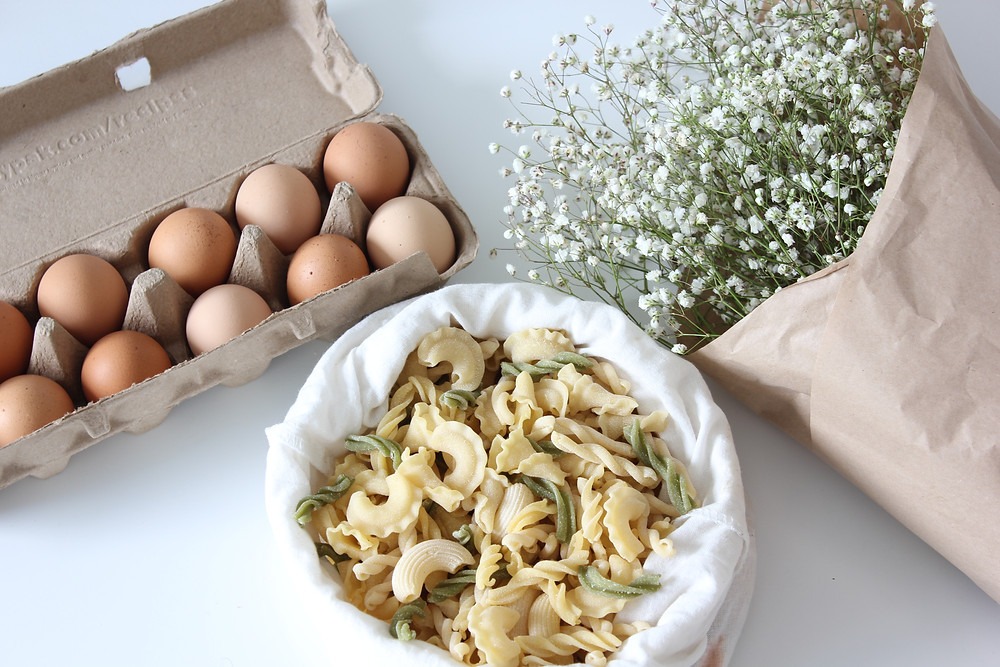 Simple zero waste pasta recipe