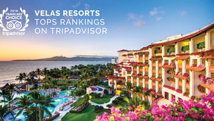 Velas Resorts Tops TripAdvisor Awards