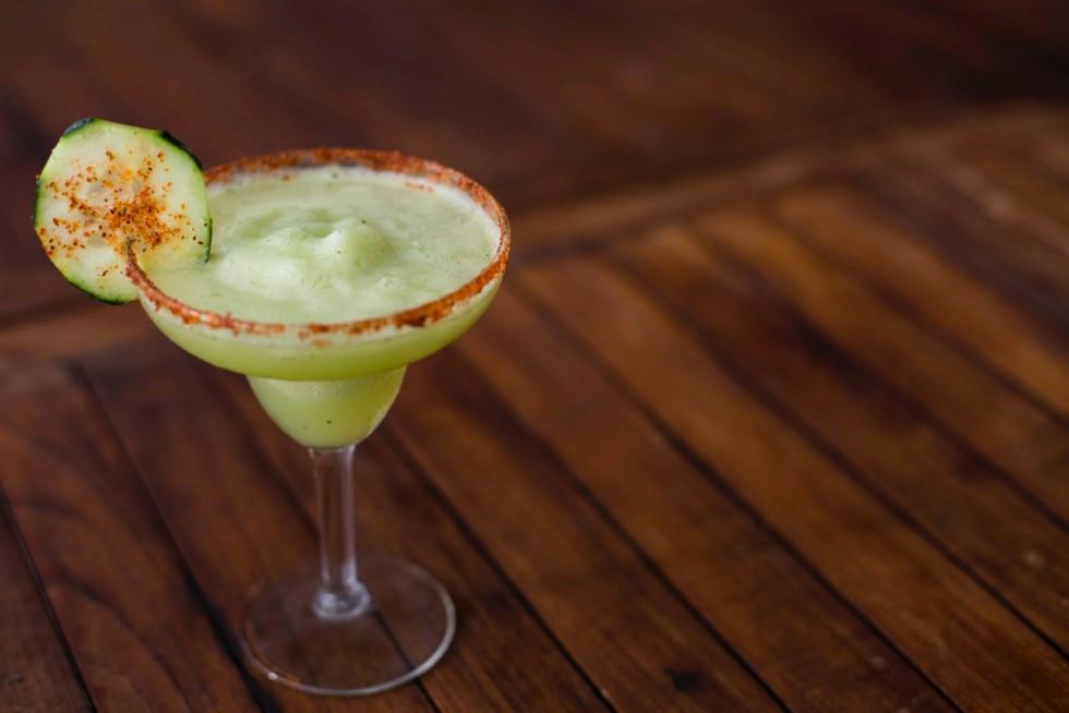 Cucumber & Habanero Chili Margarita