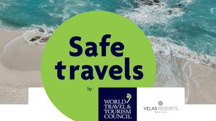 """Velas Resorts Distinguished with """"Safe Travel"""" stamp"""