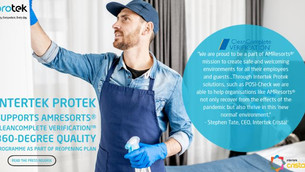 Intertek Protek Supports AMResorts CleanComplete Verification Program