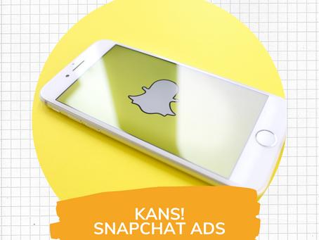 Kans! Snapchat ads