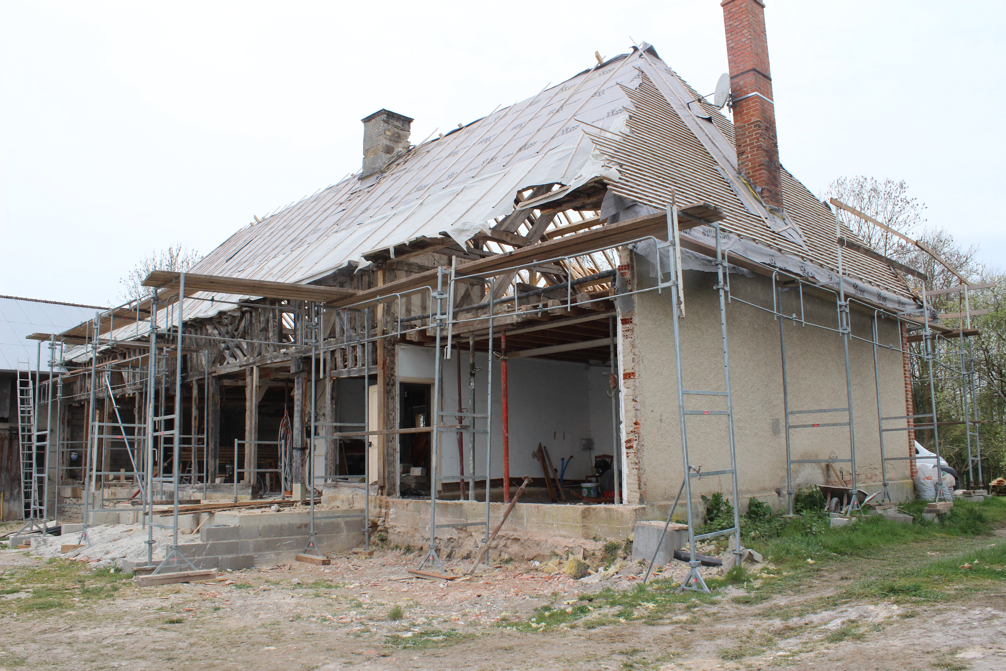 Maison avant travaux façade avant