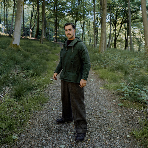 The Yarmouth Hooded Smock (Forest)
