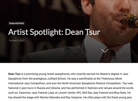 AICF features Dean Tsur: Cover and Interview