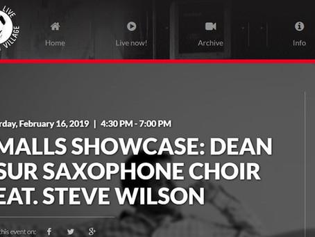 Dean Tsur Saxophone Choir feat. Steve Wilson to Perform at Smalls Jazz Club
