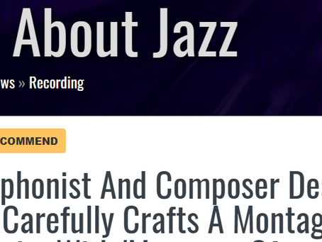 All About Jazz features Moments of Inspiration