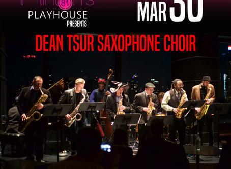 Dean Tsur Saxophone Choir to Perform at Minton's Playhouse