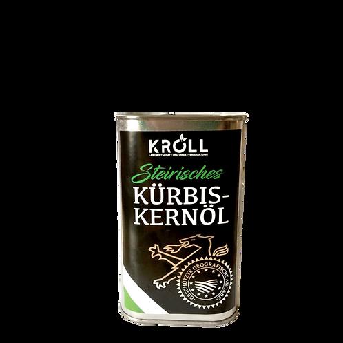 Steirisches Kürbiskernöl g.g.A. Aludose 0,5 Liter