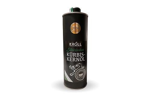 Steirisches Kürbiskernöl g.g.A. Dose-Elegace 1 Liter