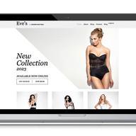 Diseño web de lencería