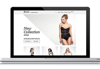Lingerie Web Design
