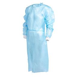 1000254 Einweg-Schutzkittel – Blau – Kategorie 3 - Antiviral