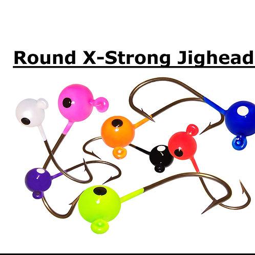 ROUND JIGHEAD - X-STRONG