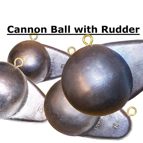 CANNON BALL with RUDDER