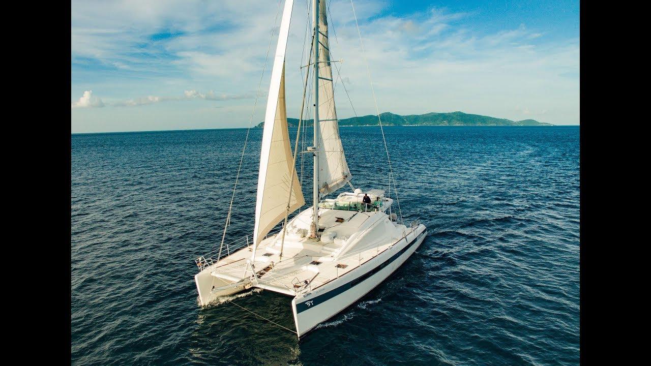Whole Day 61' Sailing Catamaran