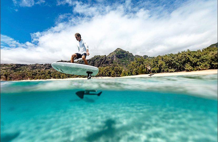 E-foil Island to Island Excursion