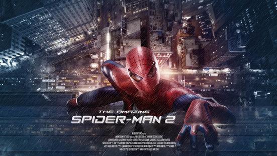 Spider-Man movie poster practice