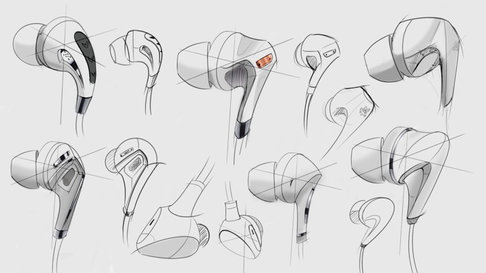 Earphone sketches