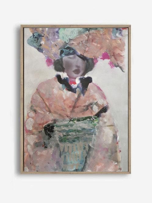 Summer Kimono | Canvas Print