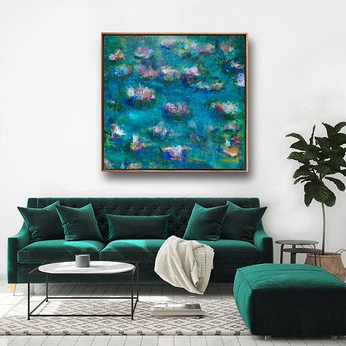 Jungle Lagoon | Canvas Print