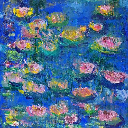 Lilac Blossom Pond