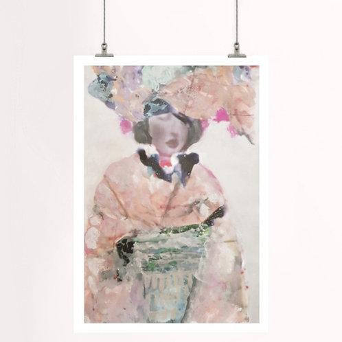 Summer Kimono | Paper Print