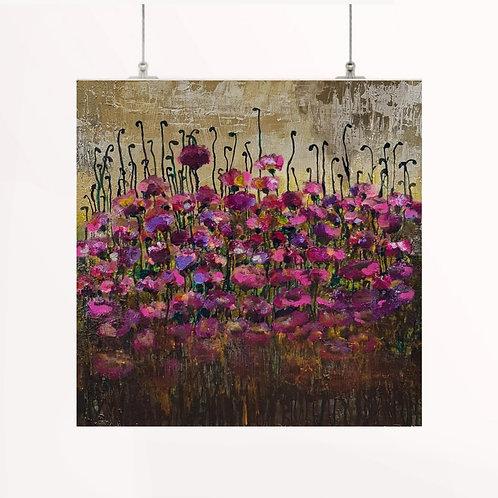 Velvet Poppies | Paper Print