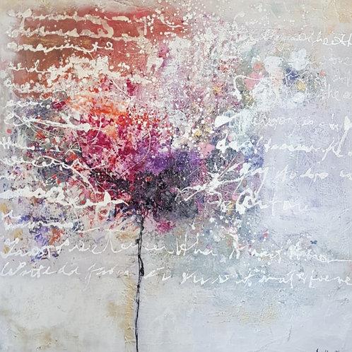 Letters de Flur | Canvas Print