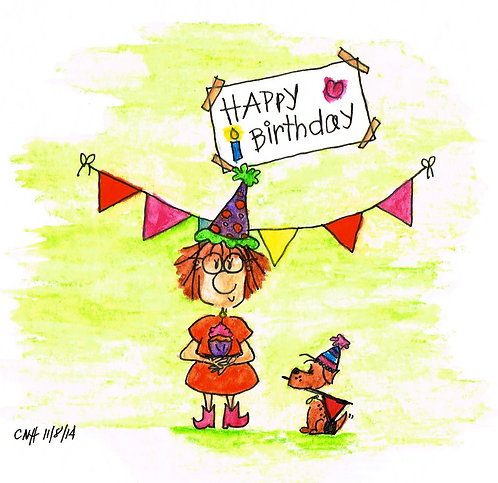 Happy Birthday {Archival Print}