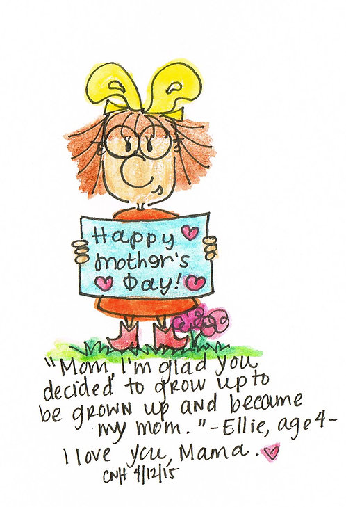 """""""Happy Mother's Day"""" Greeting Card"""