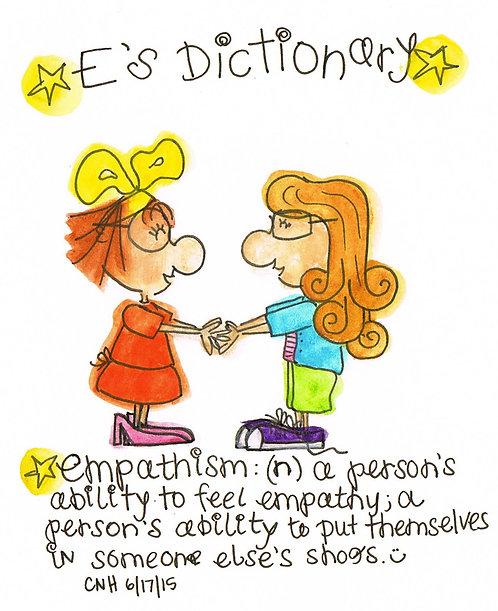 """Empathism"" Greeting Card"