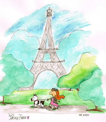 I Love You, Paris {Archival Print}