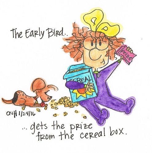 """""""Early Bird"""" Greeting Card"""