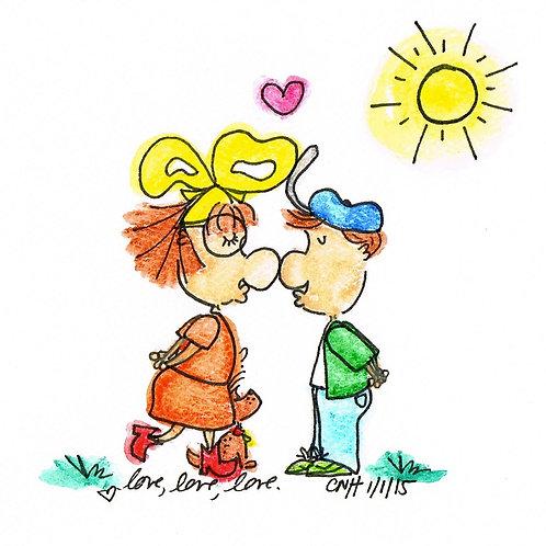 Love love love {Archival Print}