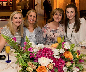 The Big Reveal, Bridal Show, Wedding Flowers, Mom, Bride, Bridesmaids