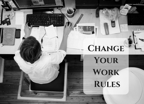Work Harder, Work Smarter...or Just Change The Rules