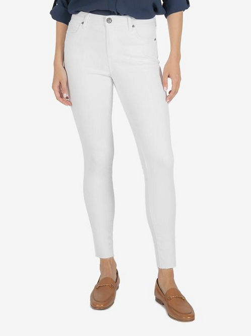CONNIE ANKLE SKINNY HIGH RISE (OPTIC WHITE)