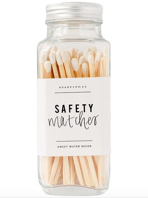 SAFETY MATCHES JAR