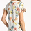 Thumbnail: FLORAL PRINTED TIE SLEEVE KNIT TOP